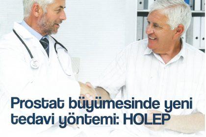 Prostat büyümesinde yeni tedavi yöntemi: HOLEP