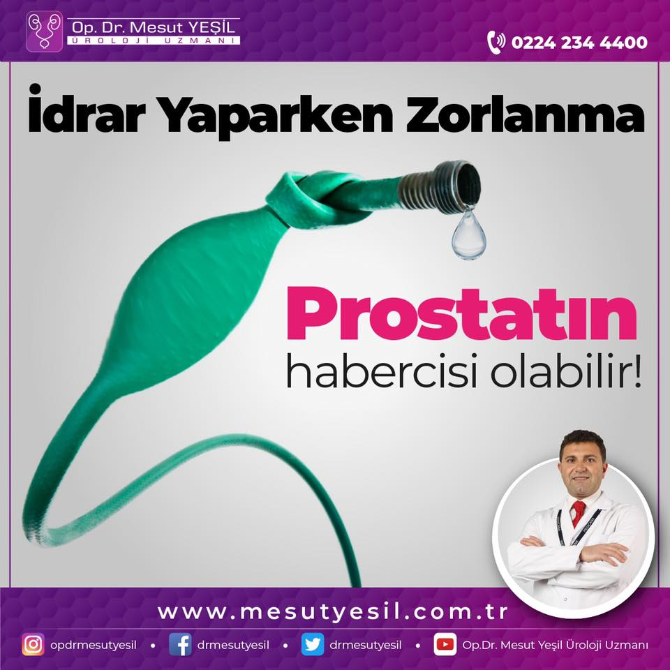 İdrar yaparken zorlanma prostatın habercisi olabilir!